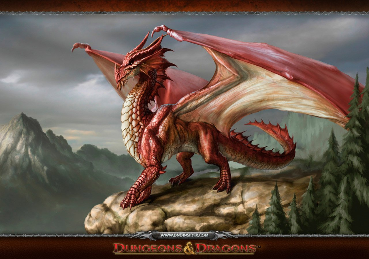 Roter Drache Dungeons Dragons Drachen Wiki Fandom Powered By