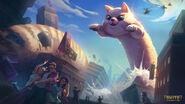 SMITE Jormungandr World-Kitty