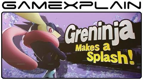 Greninja & Charizard Trailer for Super Smash Bros. Wii U & 3DS (High-quality!)