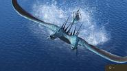 Schrecken der Meere springt