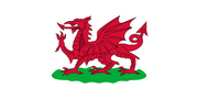 Flag of Wales, 1807-1953