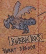 HTTYD Hicks Karte Bubble bock