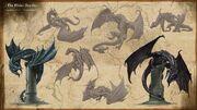 Elder Scrolls Online Drachen Konzept