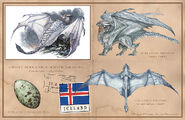 Great Icelandic White Dragon Dracopedia