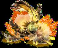 MHX-Golden Thunder Prince Zinogre