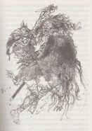 Grendels Mutter - Illustration von Victor Ambrus