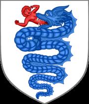 Biscione Visconti Wappen