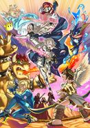 Corrin Smash Bros 4 Artwork