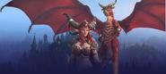 Dragons of the Nexus Alexstrasza Background