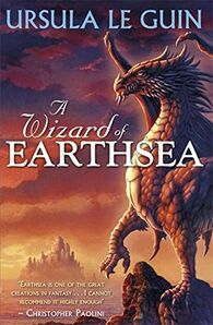 Yevaud A-Wizard-of-Earthsea Puffin Books cover