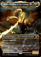 Ghidorah-King-of-the-Cosmos Magic-the-Gathering iko-379-illuna-apex-of-wishes