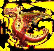 Kettenschwanz Buschkratzel