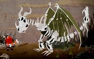 Knochenknacker Dragons-Buch der Drachen