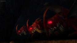 Nachtschrecken rot