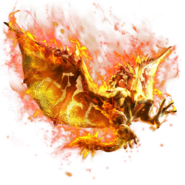 MHXR-Burning Rathalos