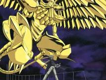 Geflügelter Drache des Ra Anime