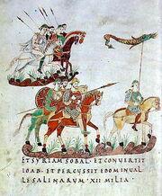 Karolingische-reiterei-st-gallen-stiftsbibliothek