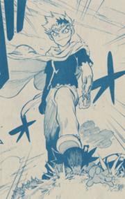 Ryuga im manga