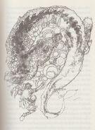 Der Feuerdrache - Illustration von Victor Ambrus