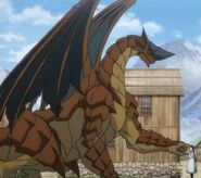 John William Bancroft as Dragon and Charl To the Abandoned Sacred Beasts Anime