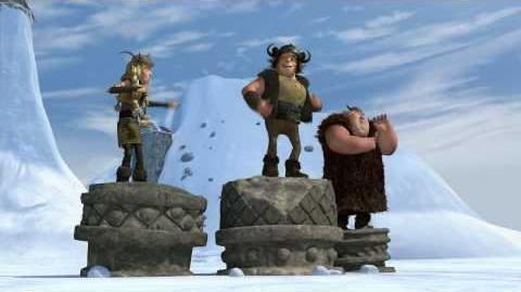 HOW TO TRAIN YOUR DRAGON - Dragon-Viking Games Vignettes Medal Ceremony