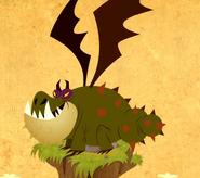 Gronckel Dragons Buch der Brachen