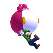 Ballon-Baby-Yoshi