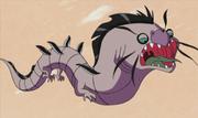 Lila-Flugschlange