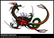 TMNT Raphael Drache
