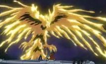 Geflügelter Drache des Ra Phönix Anime