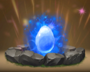 Leuchtender Fluch Ei AvB