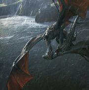 Vhagar tötet Arrax