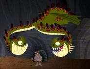 Wahnsinniger Zipper Dragons Buch der Drachen