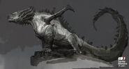 Hrӕzylr God of War Konzept 1