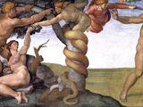 Schlange von Eden