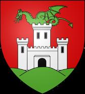 Blason ville si Ljubljana (Slovénie)