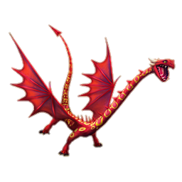 Greifender Gr ndling Drachen