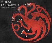 Haus Targaryen Wappen