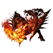 MHXR-Scorching Heat Rathian