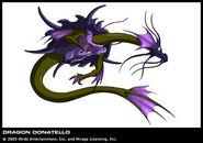 TMNT Donatello Drache