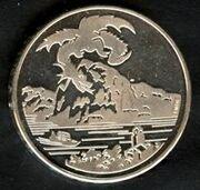 Drache-Breno 20-Franken Münze