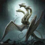 Godzilla King of the Monsters King Ghidorah by KENBARTHELMEY
