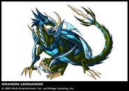 TMNT Leonardo Drache