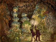 HTTYD Konzept Drachenhöhle