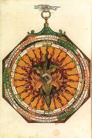 Drachenknoten Astronomicum Caesareum (1540).f18