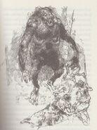 Grendel - Illustration von Victor Ambrus