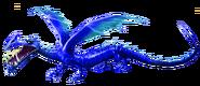 Sägezahn blau