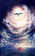 Haudraufs Schiff Nachtschatten Wolke