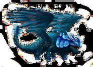 Rumpelhorn blau