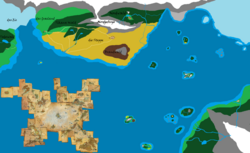 Karte Hicks und OC